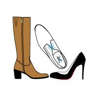 Stockage sécurisé de chaussures et bottes homme femme