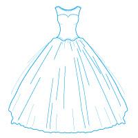 Nettoyage express de robe de mariée et robe de cérémonie