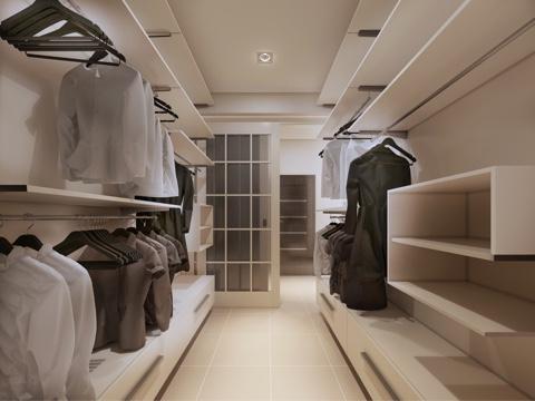 Pressing et stockage de vêtements saisonniers