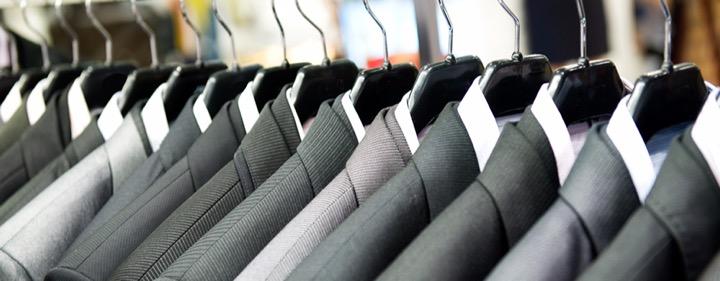 Stockage externe de costume homme et tailleur femme